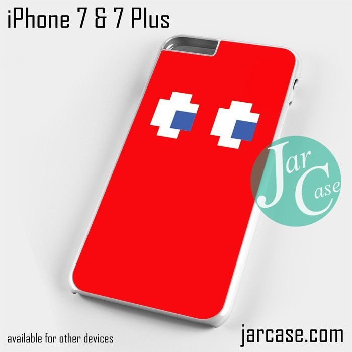 red pacman Phone case for iPhone 7 and 7 Plus