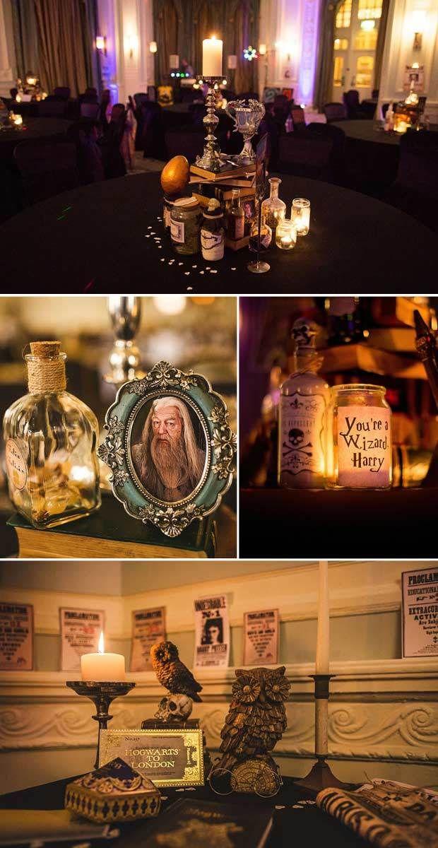 Fotos pareja crea boda de ensue o al estilo harry potter for Harry potter cuartos decoracion