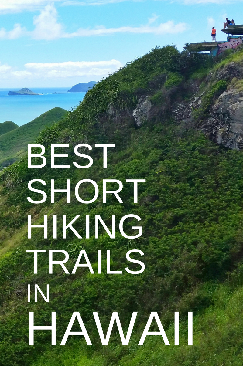 Oahu Hikes Travel Guide :: Best Short Hikes on Oahu: map +