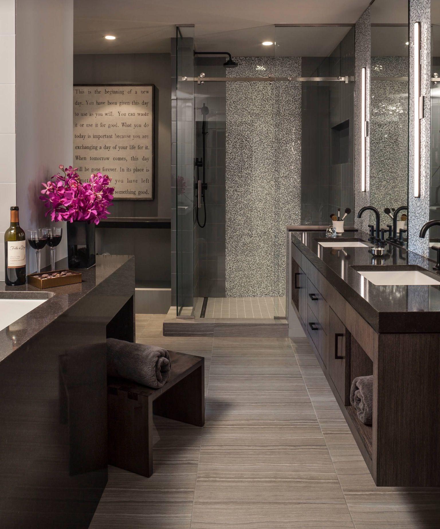 Pin By Bethany Wesco On Future Home Ideas Master Suite Luxury Bedroom Master Luxury Master Bathrooms Bathroom Decor Luxury