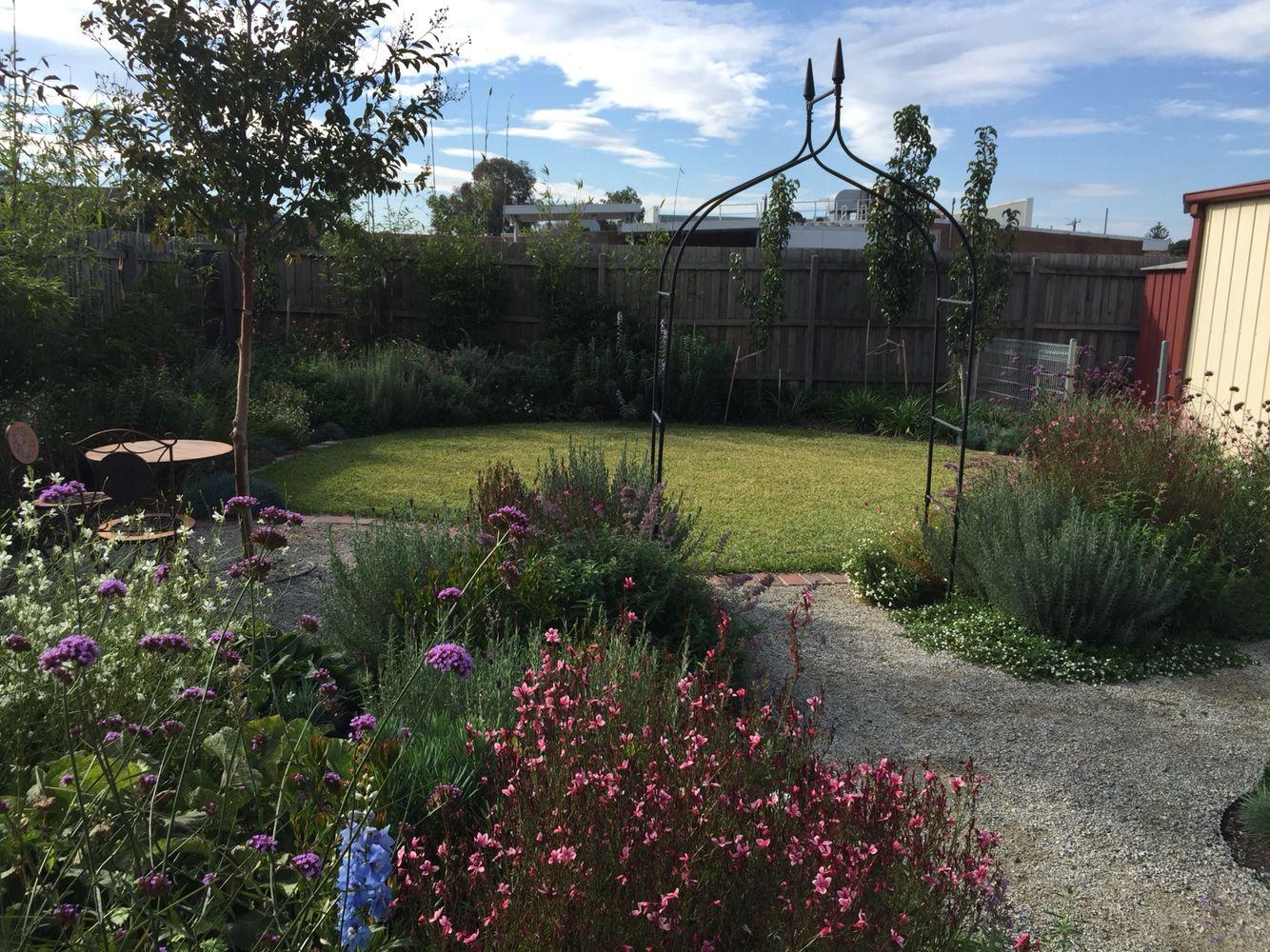Perennial Kitchen Garden 5 Months Old Garden Landscapes