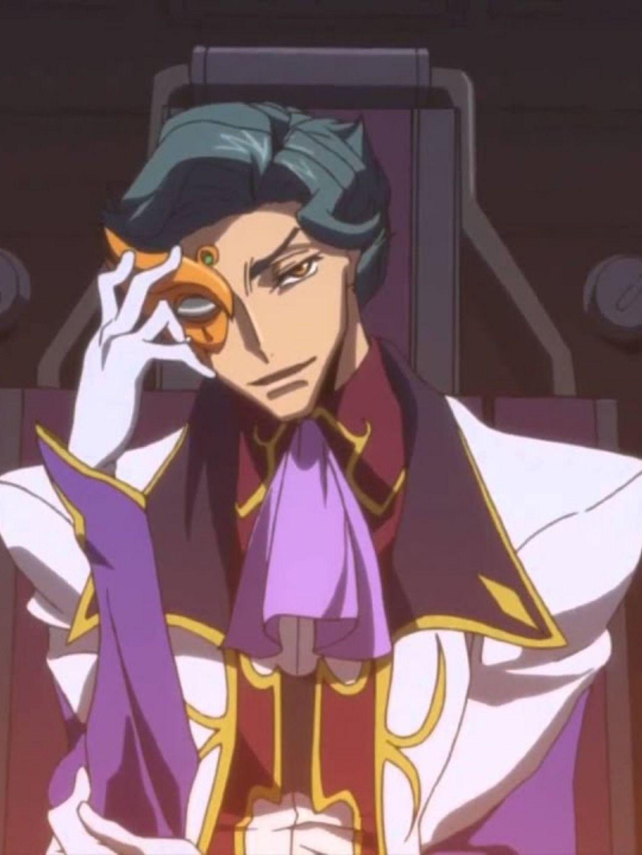 Jeremiah Orange Anime Code Geass Lelouch of the