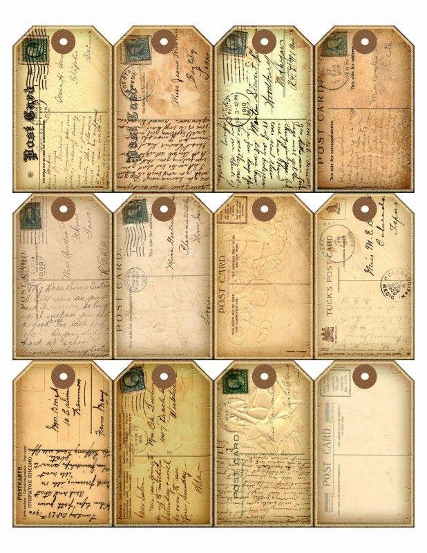 Sheet postkaartjes   Teksten & Spreuken   Nostalgie & Brocante