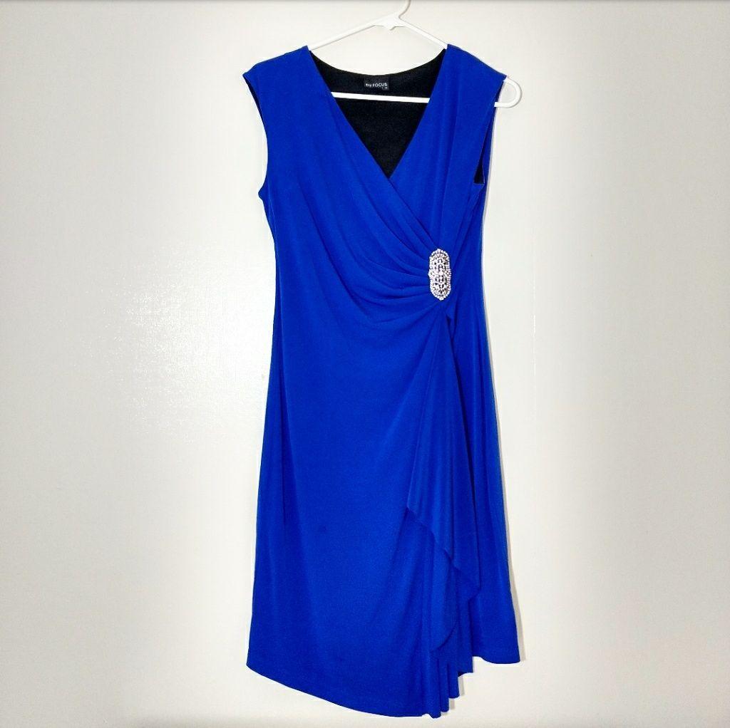 Sale! Nwot En Focus Studio Cobalt Dress #cobaltdress Sale! Nwot En Focus Studio Cobalt Dress #cobaltdress