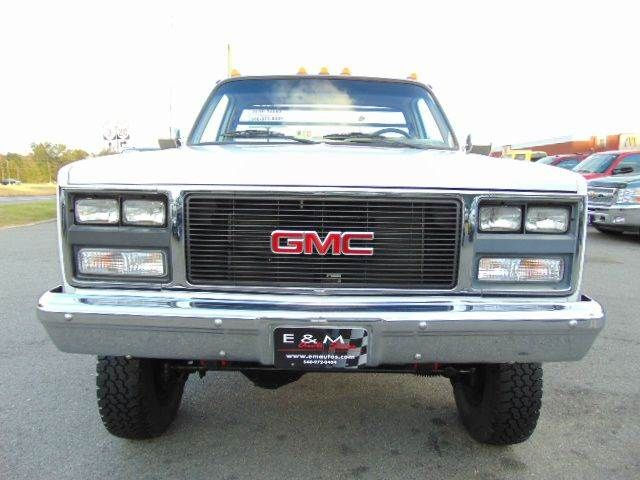 1988 Gmc Sierra 3500 V3500 Cab Chassis 4x4 For Sale By E And
