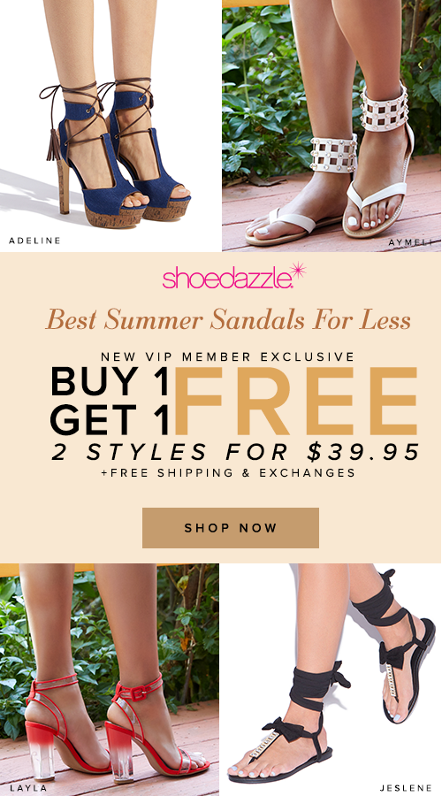 871cb4d69 Best Summer Sandals   Heels for less! Buy One