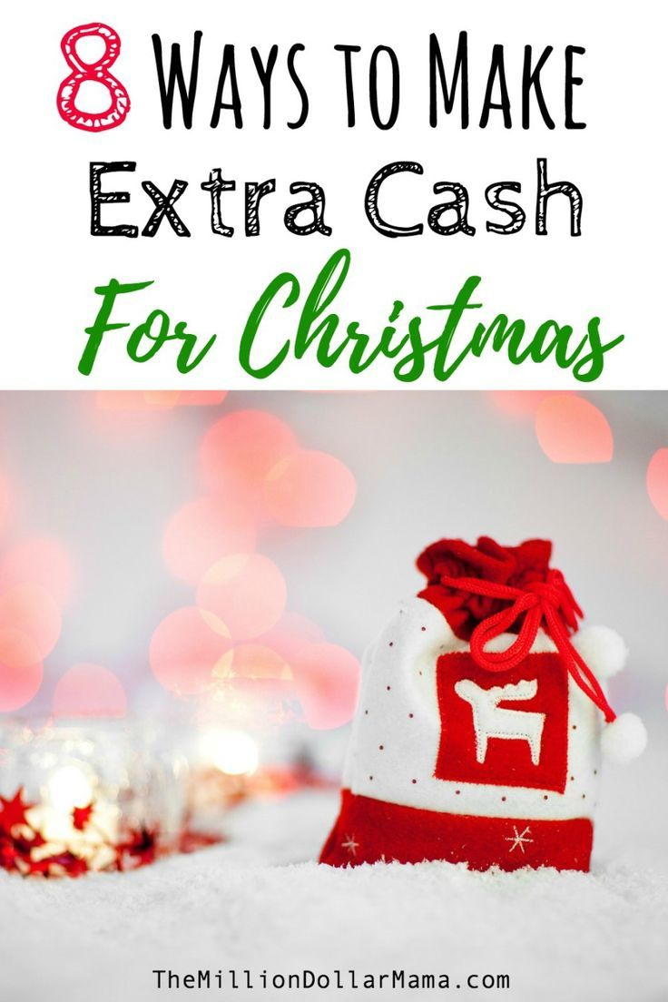 10 Easy Ways to Make Extra Money For Christmas | Pinterest | Extra ...