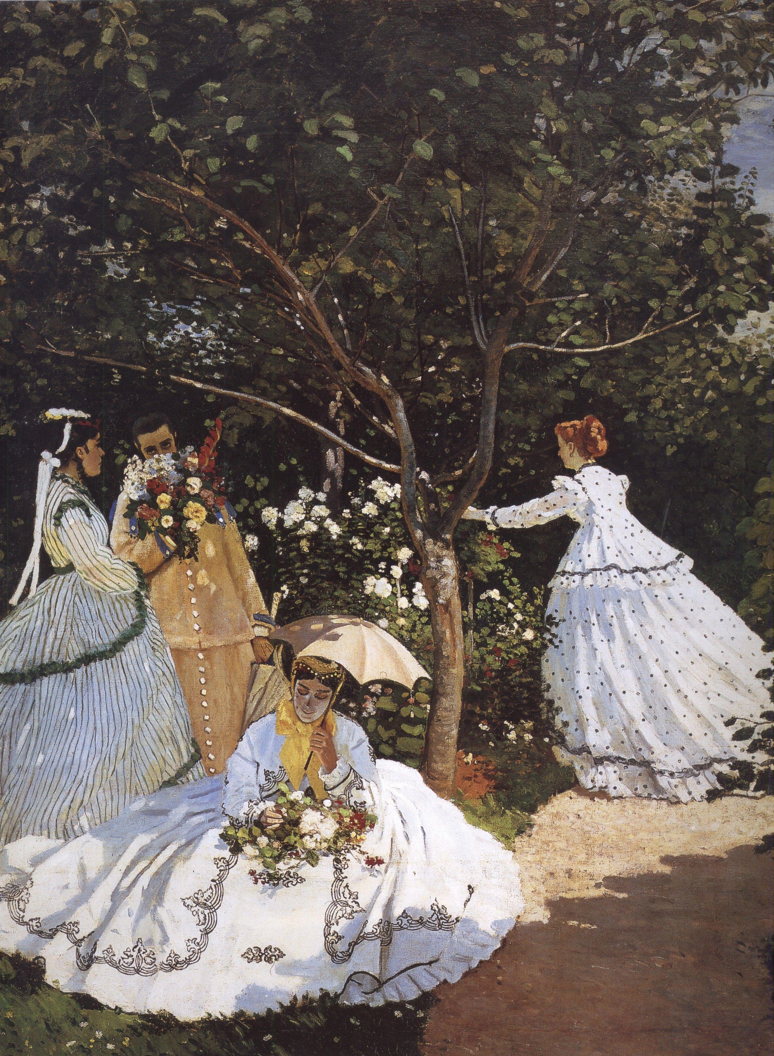 Claude Monet   Women In The Garden, 1866 67, Oil On Canvas Good Looking