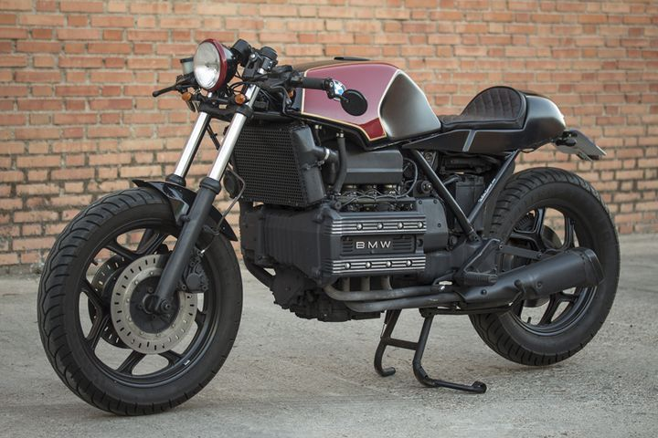 bmw k100 cafe racer by the biker special motorcycles caferacer motos. Black Bedroom Furniture Sets. Home Design Ideas