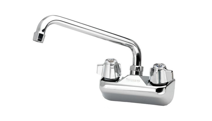 Krowne 10 410l Low Lead Wall Mount Faucet With 10 Swing Spout 4 Centers Wall Mount Faucet Faucet Wall Mount