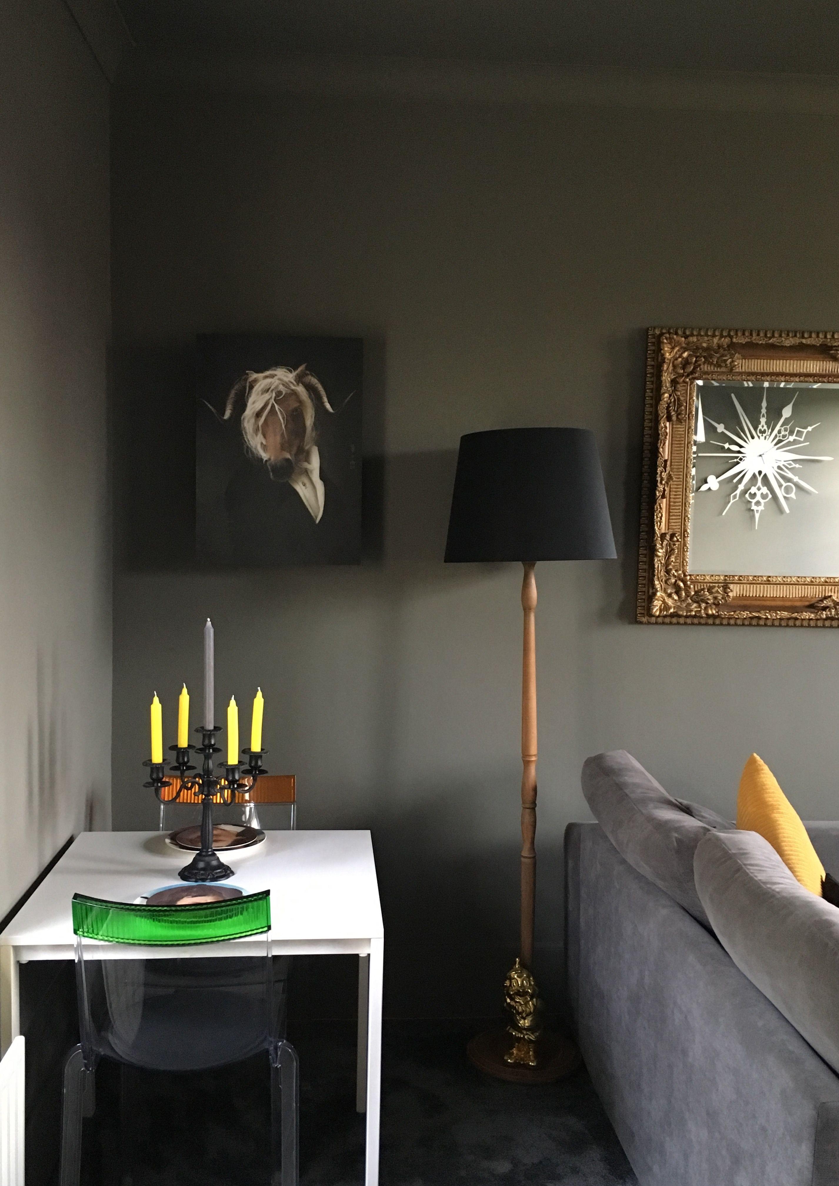Little Greene Grey Moss Ibride Interior Design Little