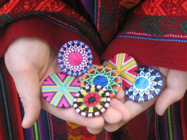 Handmade shirtlace buttons by Zwirnknöpfe Sabine Krump