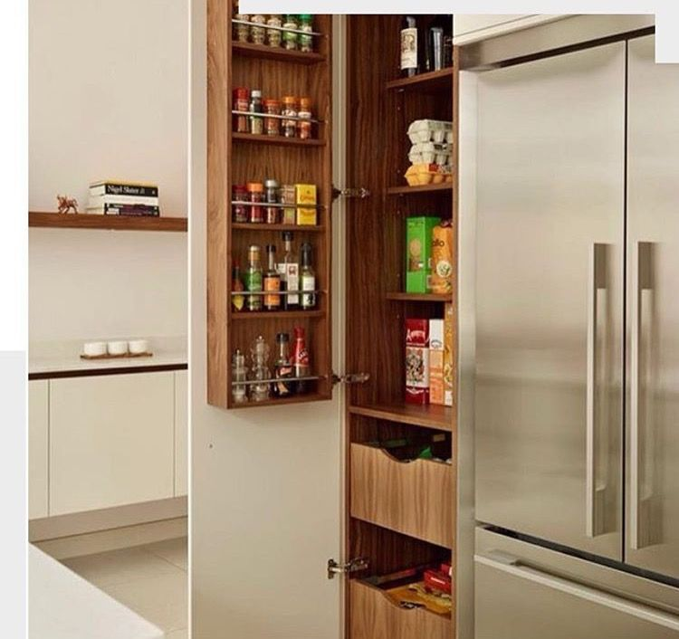 Kitchen Storage Zones: Pin By Talal El-Husseiny On Organizing & Storage Areas