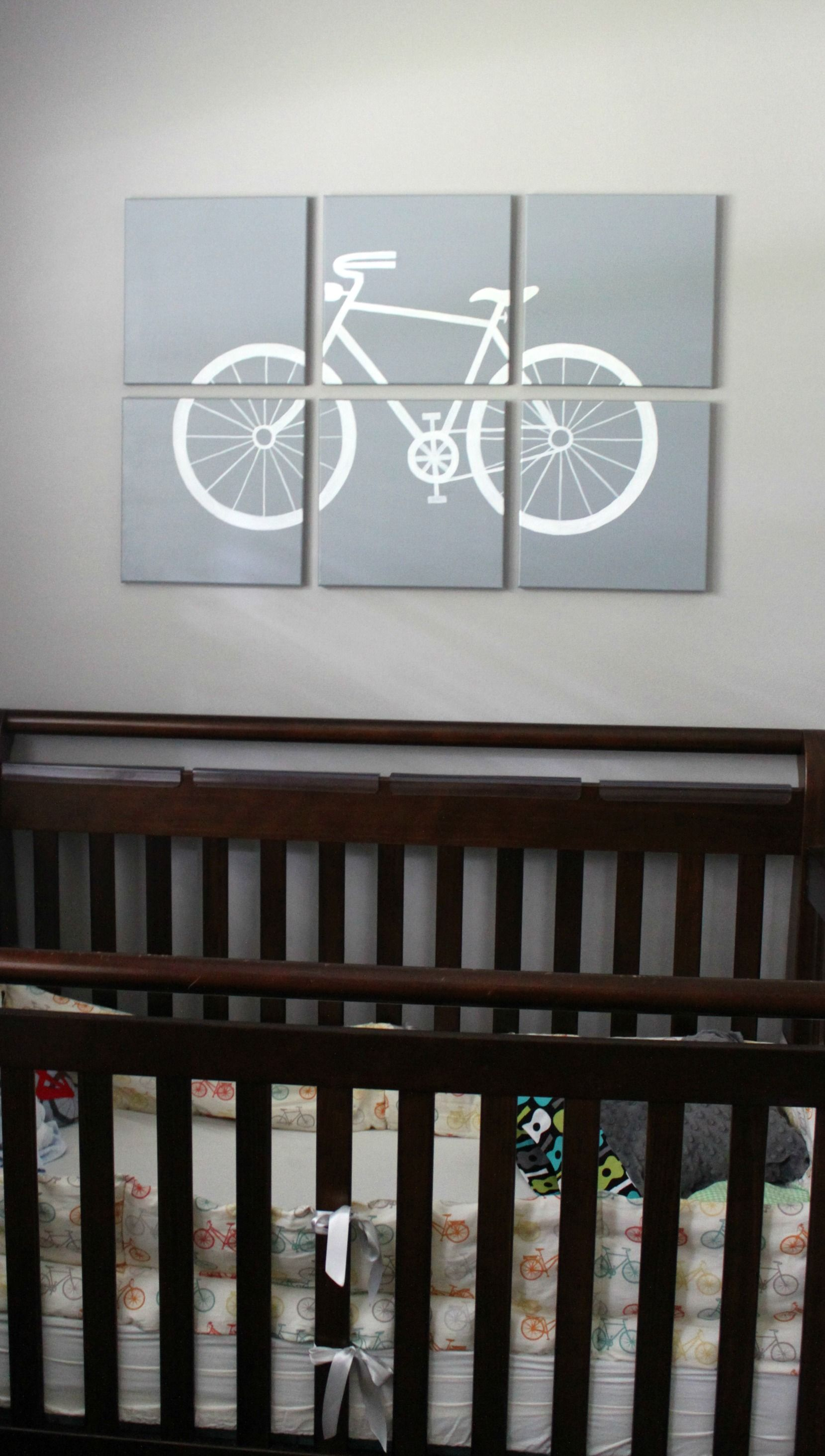 Real Home Inspiration: DIY + Vintage Finds + A Bicycle Themed ...