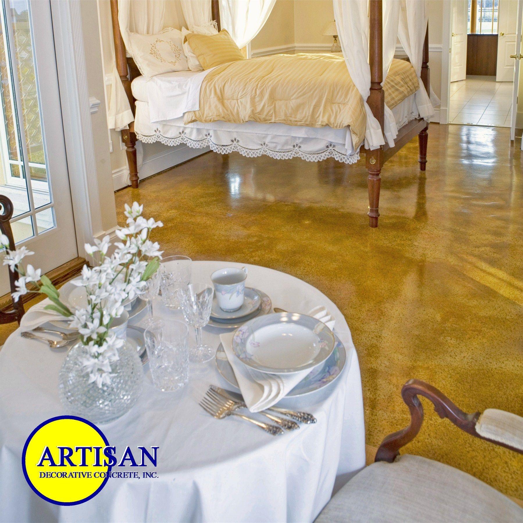 polished concrete floors bedroom Bedroom Floor (With