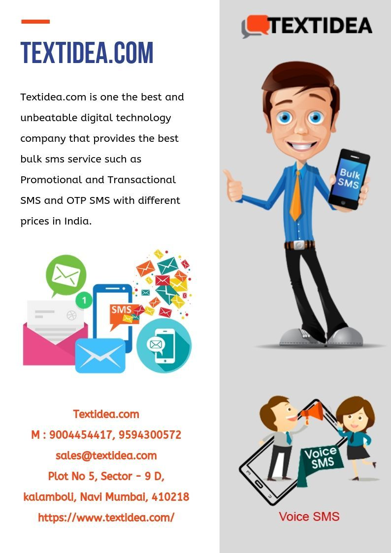 Transactional Bulk SMS Price Mumbai Text Idea Sms