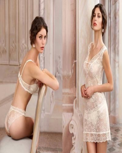 7362add037e One way to attract your husband in your first nigh is wearing nighty for wedding  night