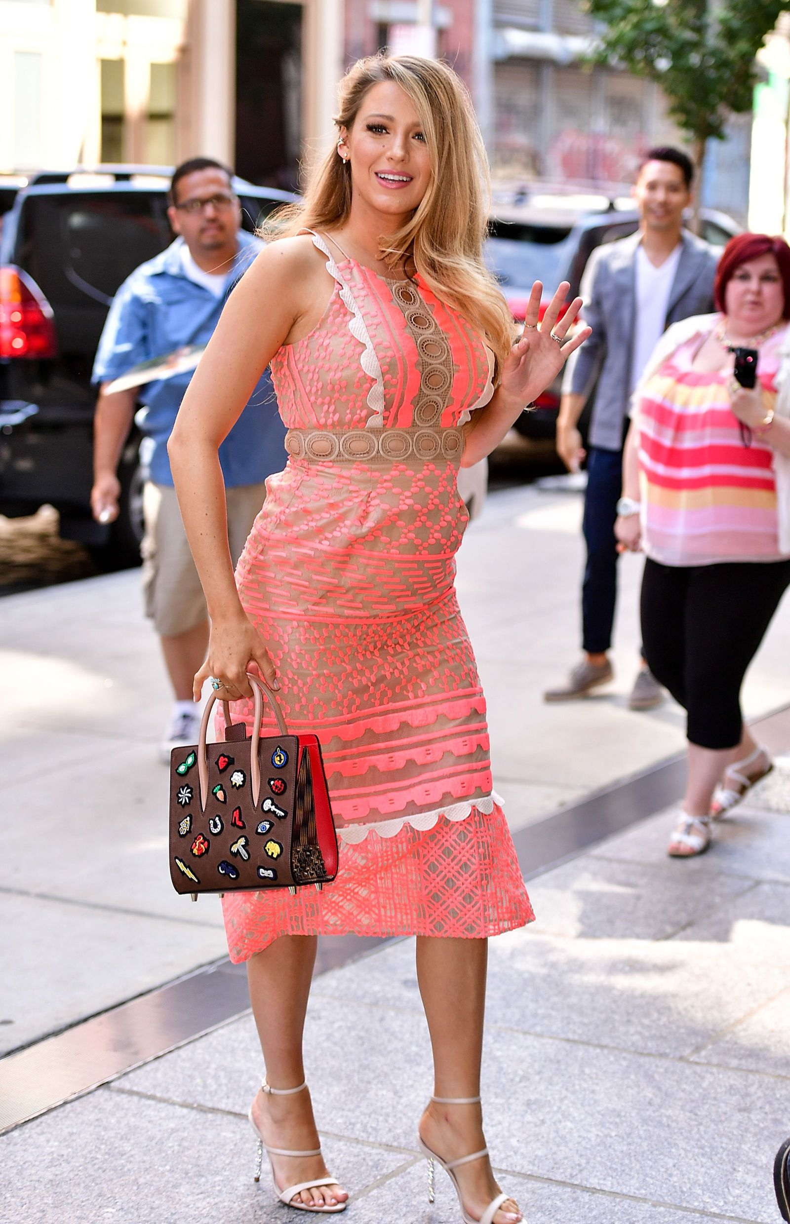 Blake Lively Wore a Modern-Day Pink Poodle Skirt for Her \'All I See ...