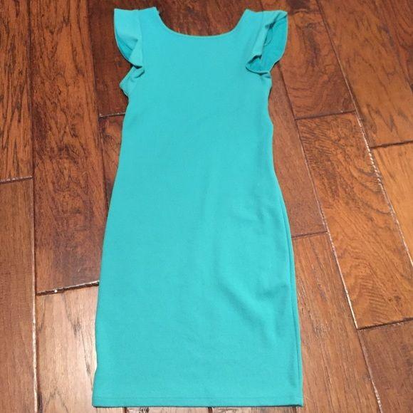Bershka Dress Never use green Dress Bershka Dresses Mini