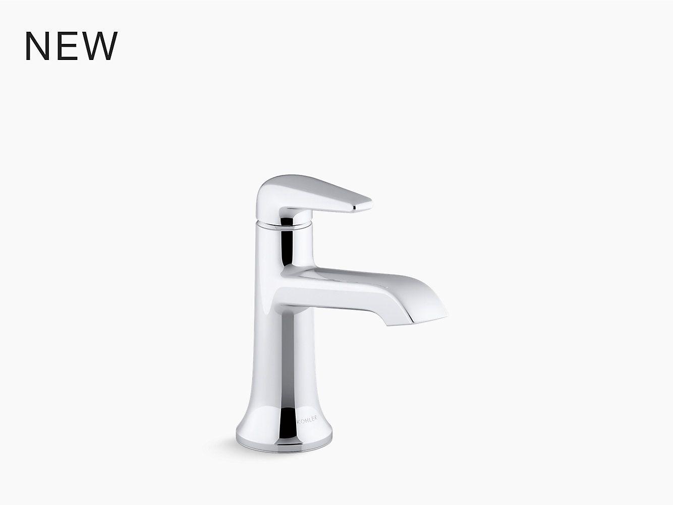 K 22022 4 Tempered Single Handle Bathroom Sink Faucet Kohler