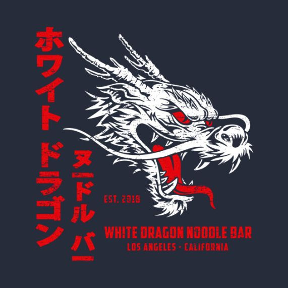 White Dragon Noodle Bar Kids White Dragon Dragon Noodles