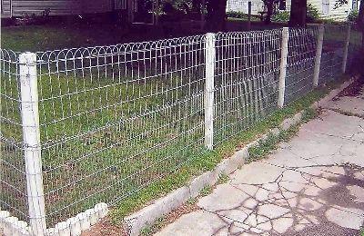 3 Ornamental Wire Fencing Loop Top Garden And Lawn