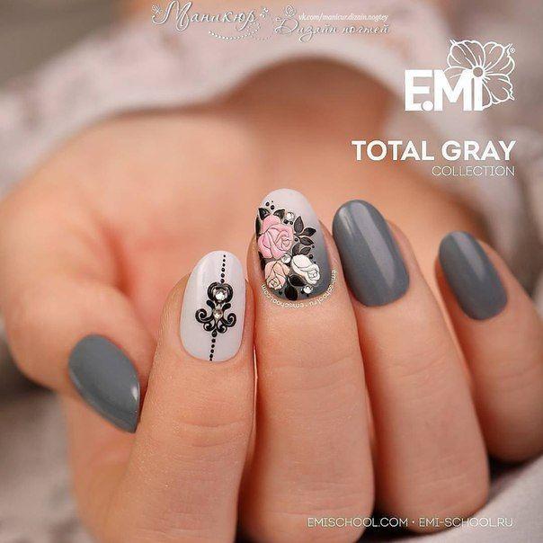 Маникюр | Nails | esmaltes | Pinterest | Diseños de uñas, Arte de ...