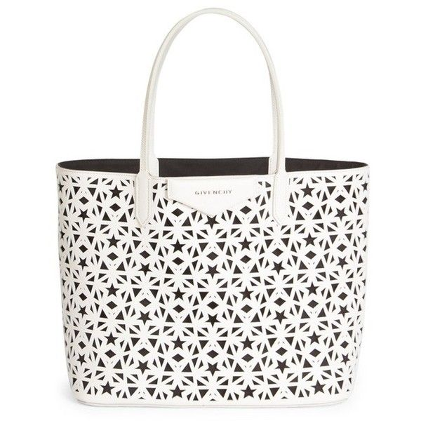 Givenchy Antigona Small Star-Perforated Leather Tote ( 1 d08a79629fd51