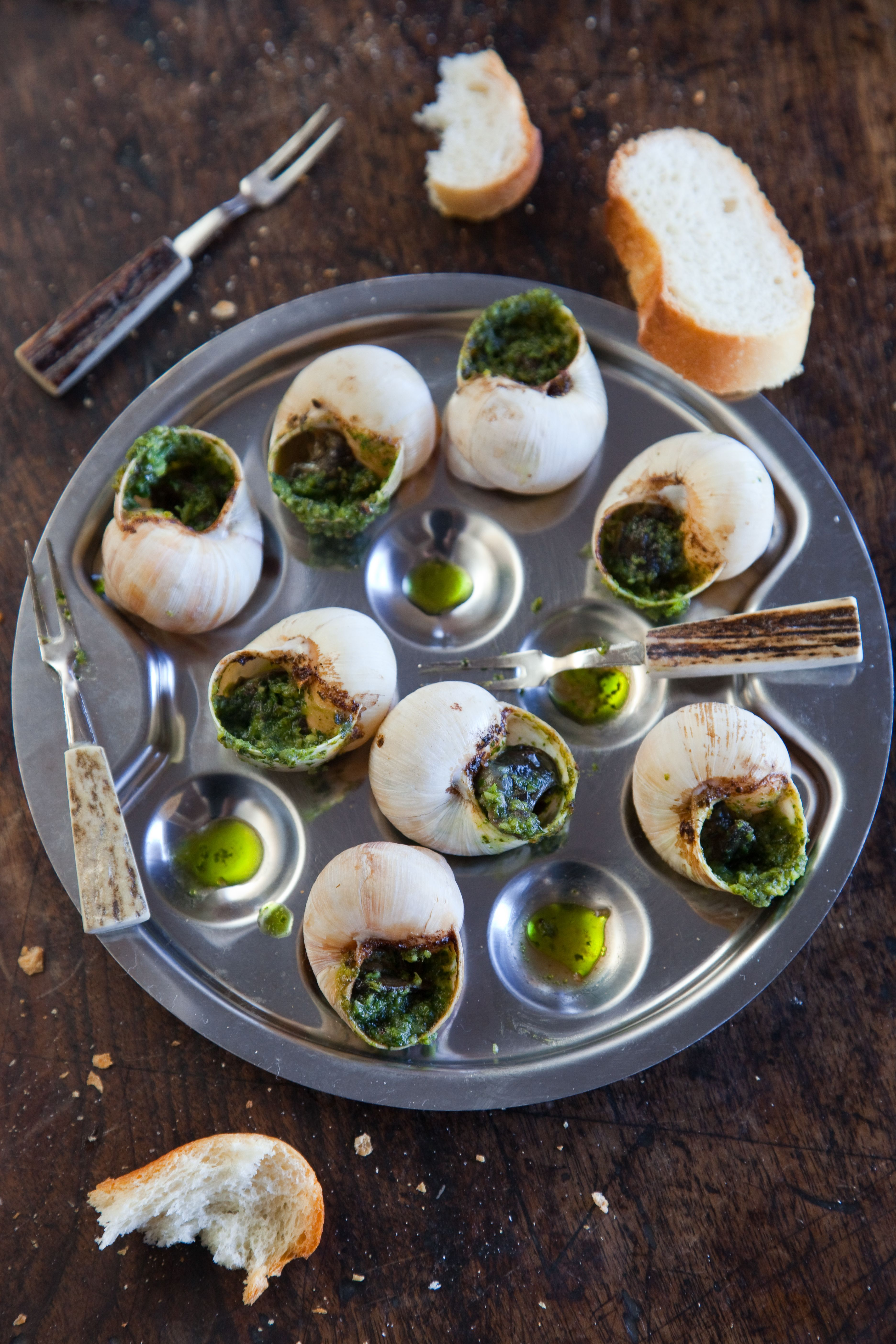 Recipe: Escargot de Bourgogne (Burgundy snails) is a