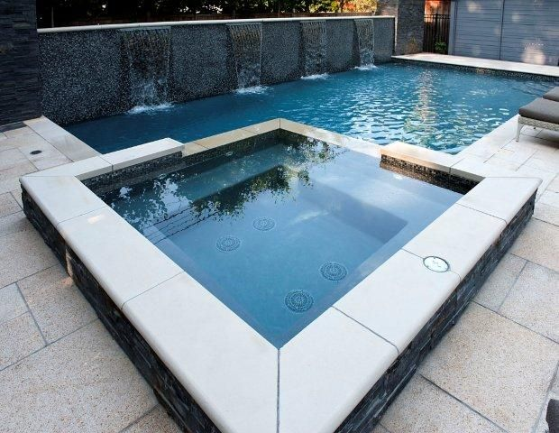 Customer Landscape Design By Gib San Pool Landscape Creation Custom Concrete Pool Design Ideas Fam Pool Hot Tub Pool Landscaping Swimming Pool Landscaping