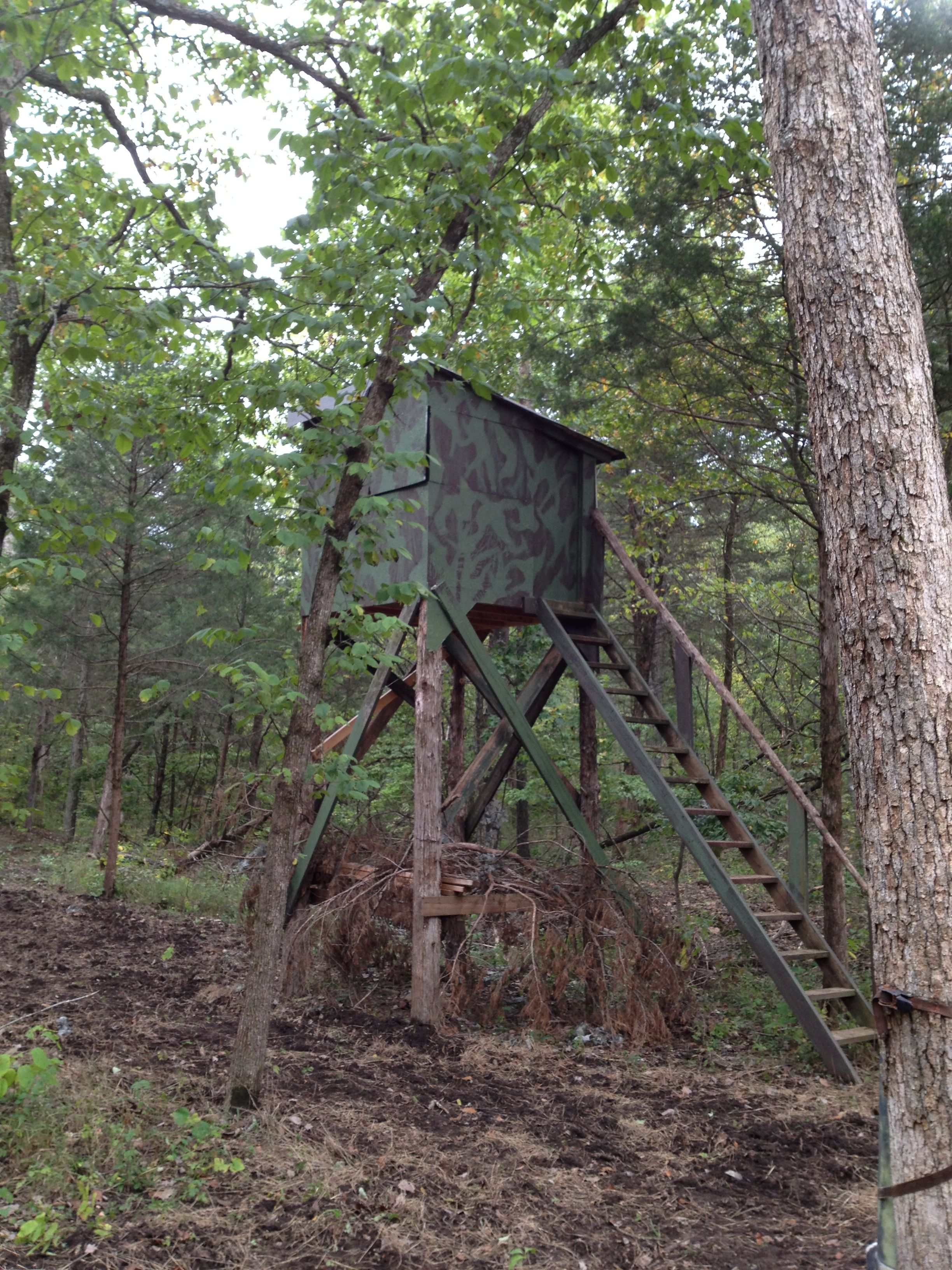Sons Cool Deer Stand Wayne Kettinger Pinterest