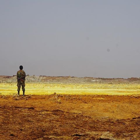 "Dallol,  Ethiopia  - ""Hell on Earth"""