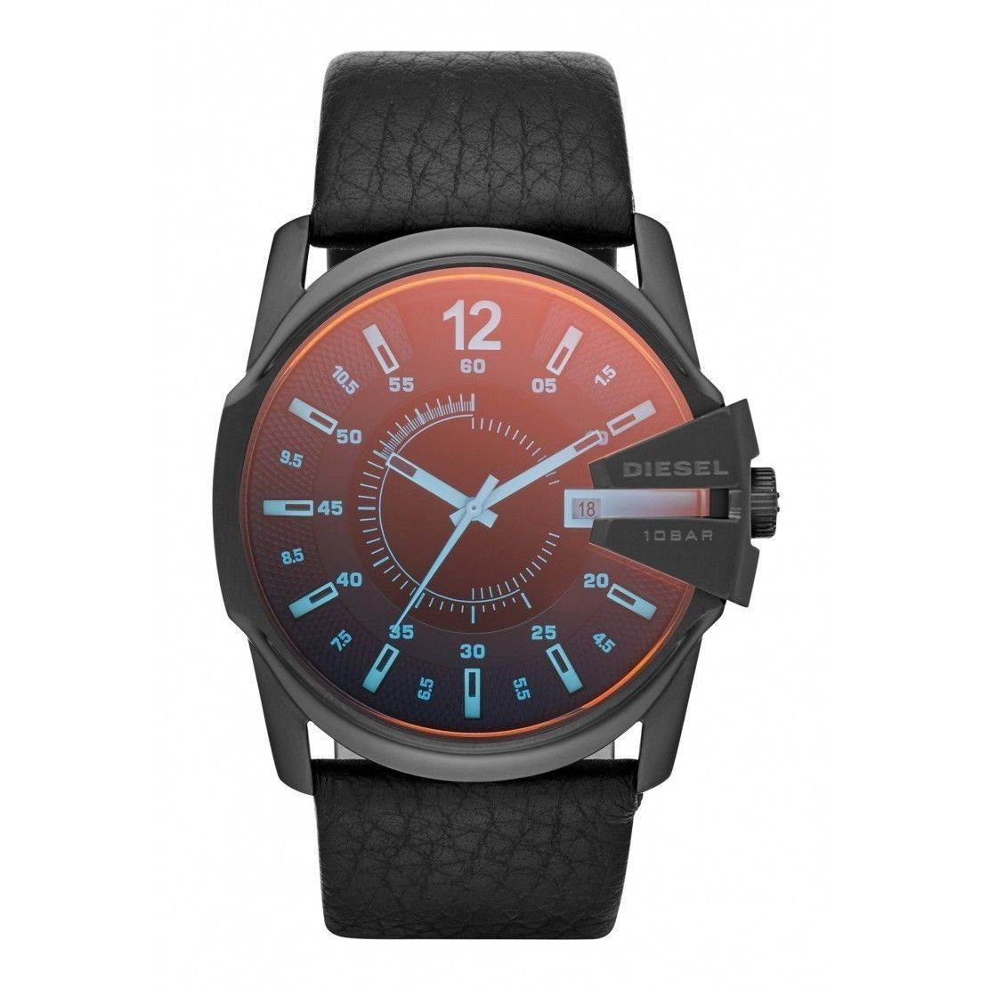 black com diesel watches chief blue mega