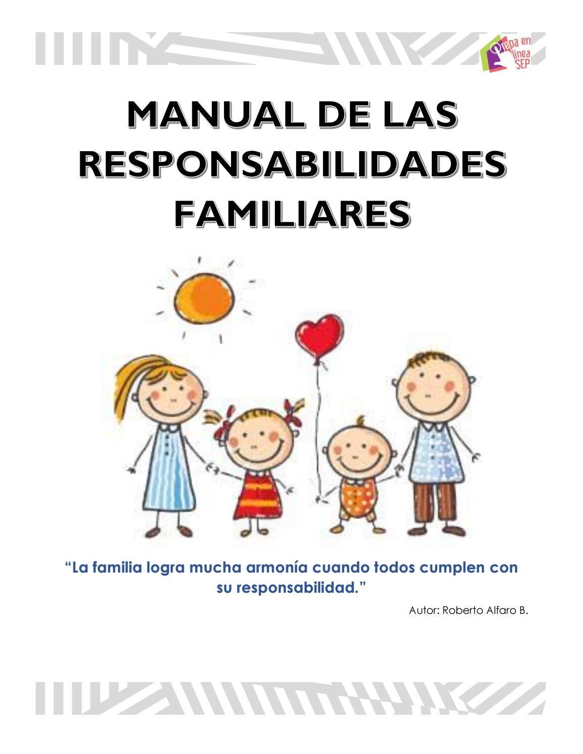 Manual De Las Responsabilidades Familiares Responsabilidad