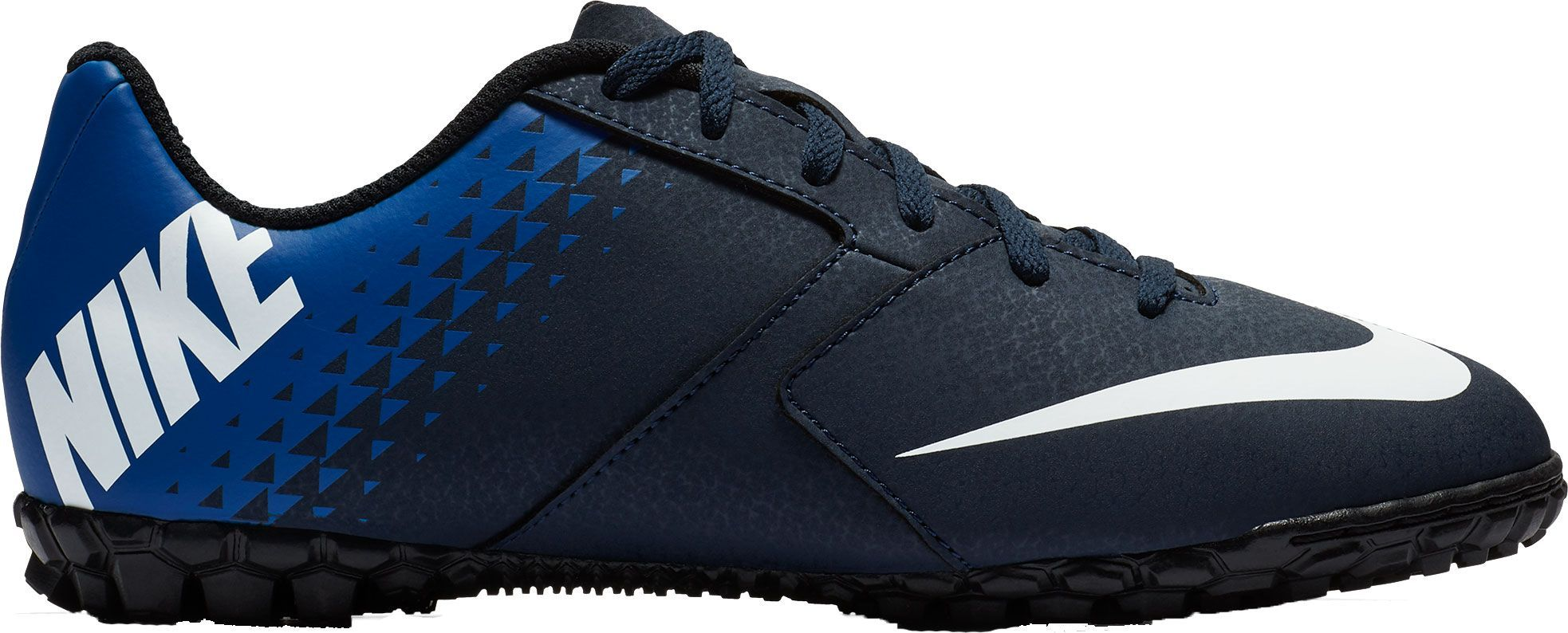 reputable site a3fbe 55478 Nike Kids  BombaX Turf Soccer Cleats, Blue