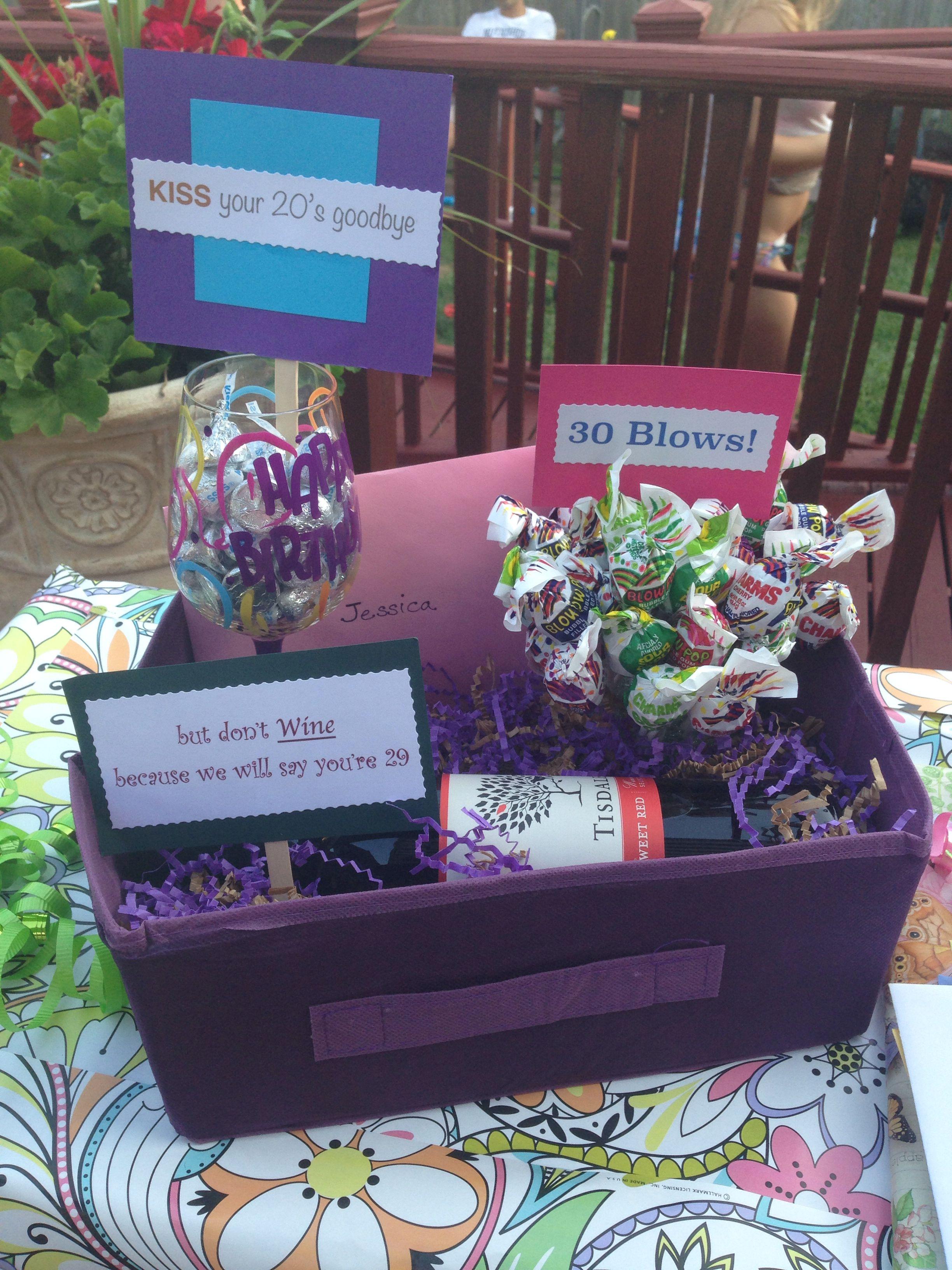 20th birthday idea   20th birthday gifts, Birthday gift baskets ...