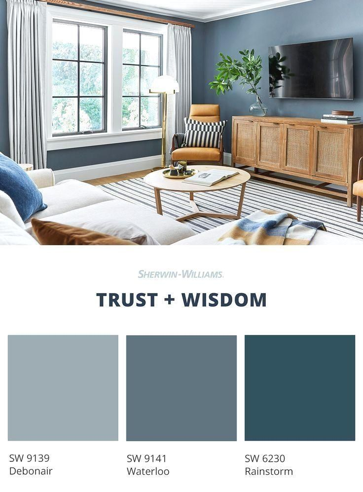20 Popular Paint Color Ideas For Living Room For More Enchanting In 2020 Paint Colors For Living Room Living Room Colors Blue Living Room