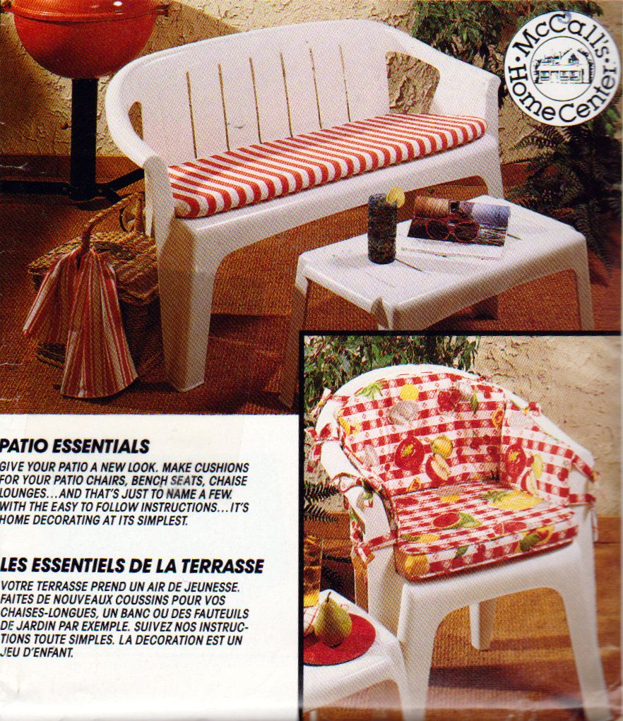 Patio Furniture Cushions Mccalls 610 Lounge Chair