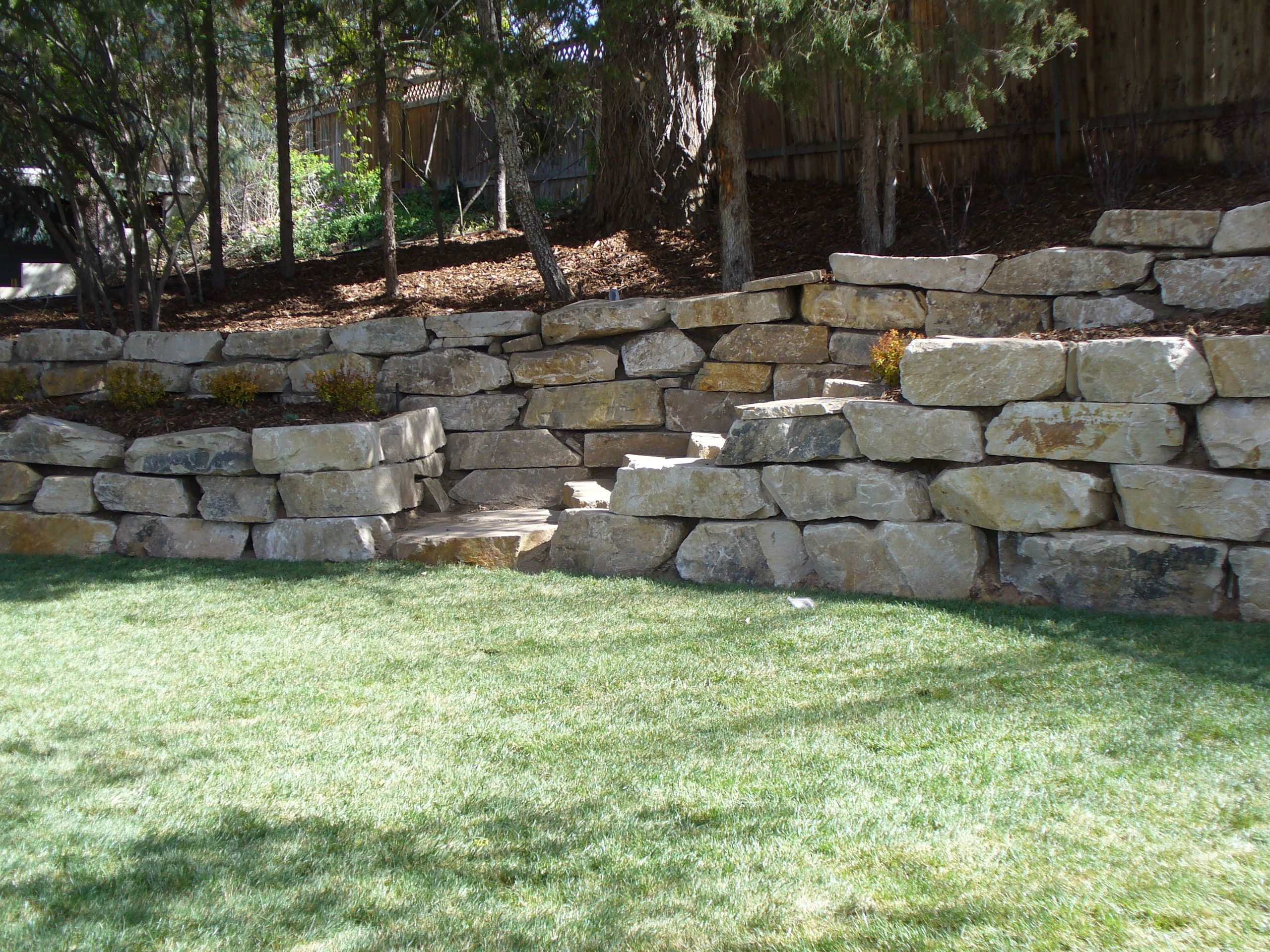 Retaining Walls For Salt Lake City And Park City Utah Rock Retaining Wall Retaining Wall Park City