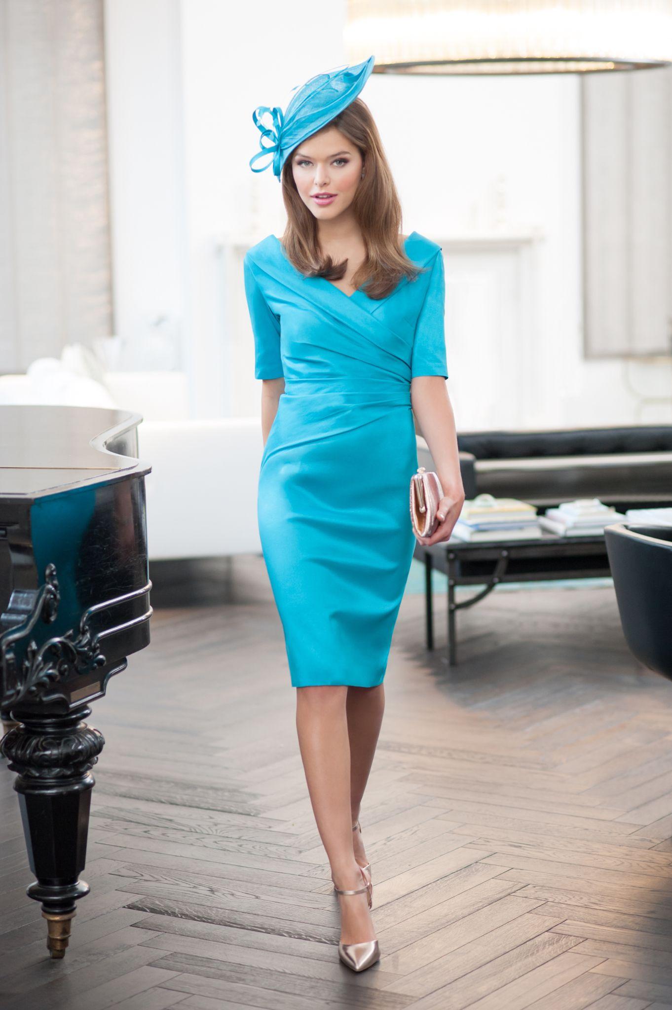 Ispirato Dress IW821 (IU821); colours Rivera; Kingfisher