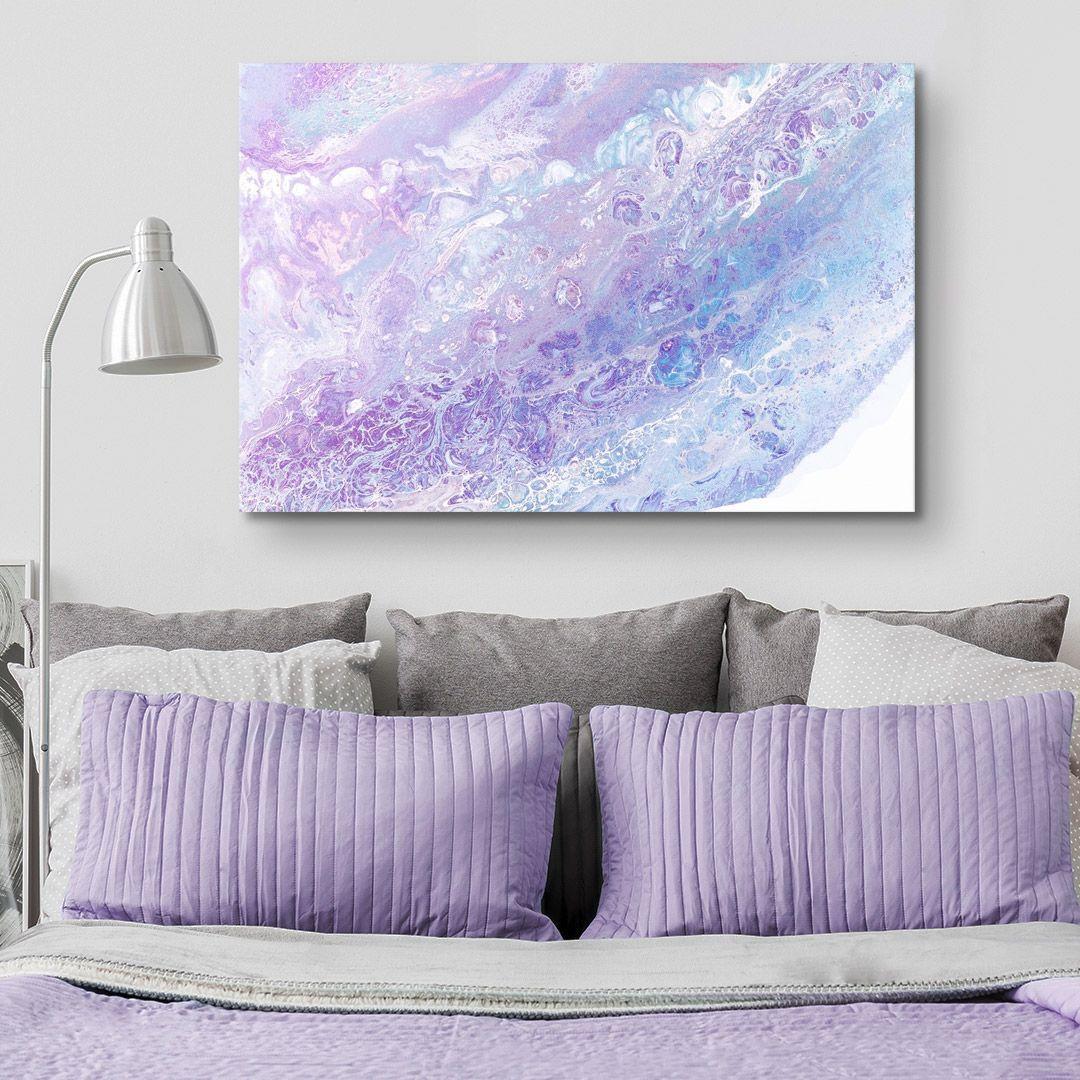 Fairy Floss Ii Purple Wall Art Bedrooms Purple Wall Art Violet Wall Art