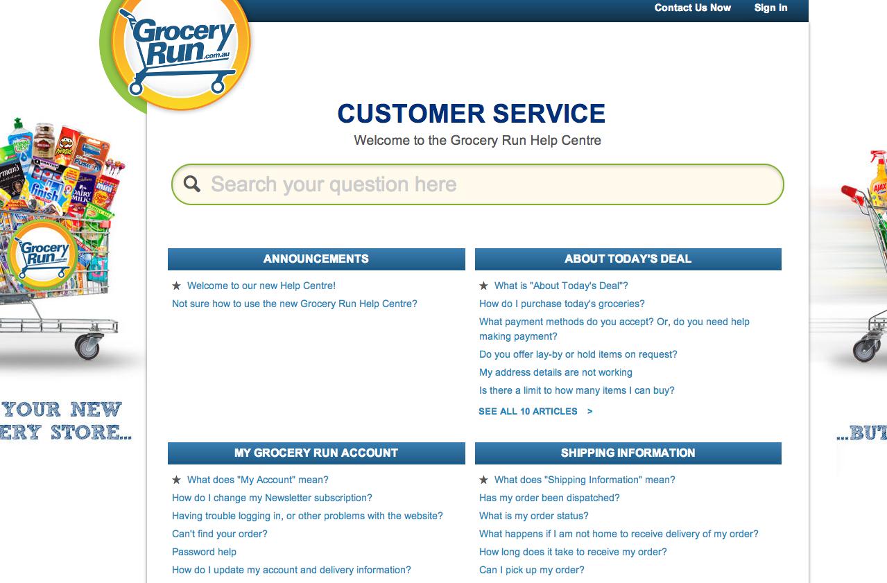 Grocery Run Daily Deals Customer Service Zendesk Help Center Zendesk Help Center Custom Branding Good Customer Service