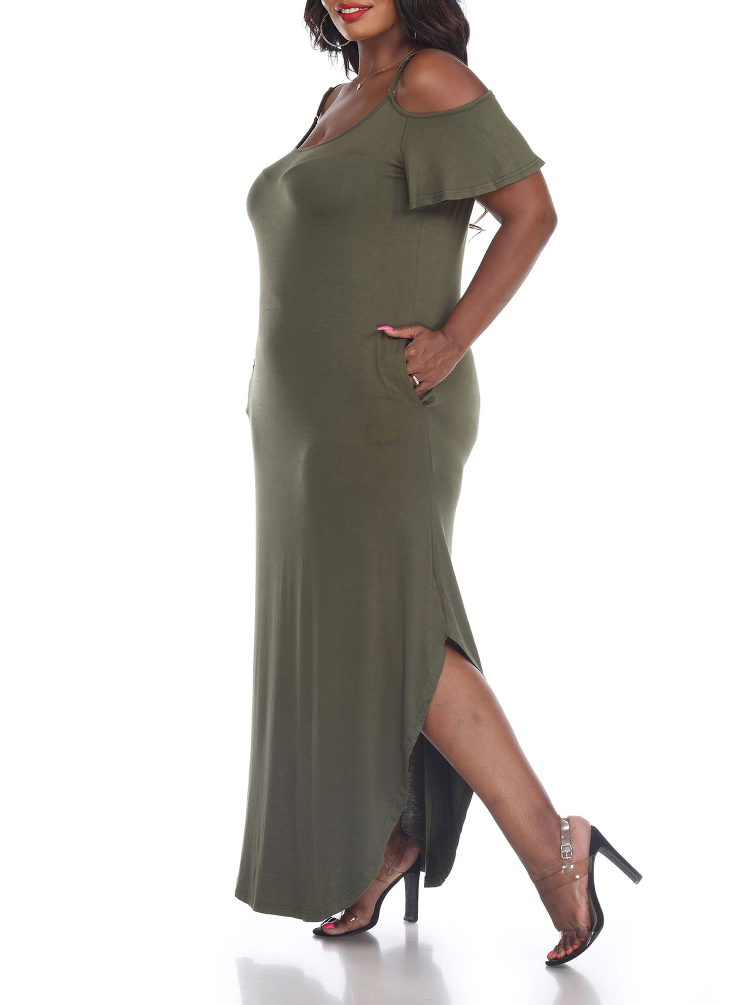 White Mark White Mark Women S Plus Size Lexi Maxi Dress Walmart Com Versatile Dresses Maxi Dress Dresses [ 2000 x 1500 Pixel ]