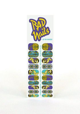 Rad+Nails+Nail+Wraps+Go+For+Baroque