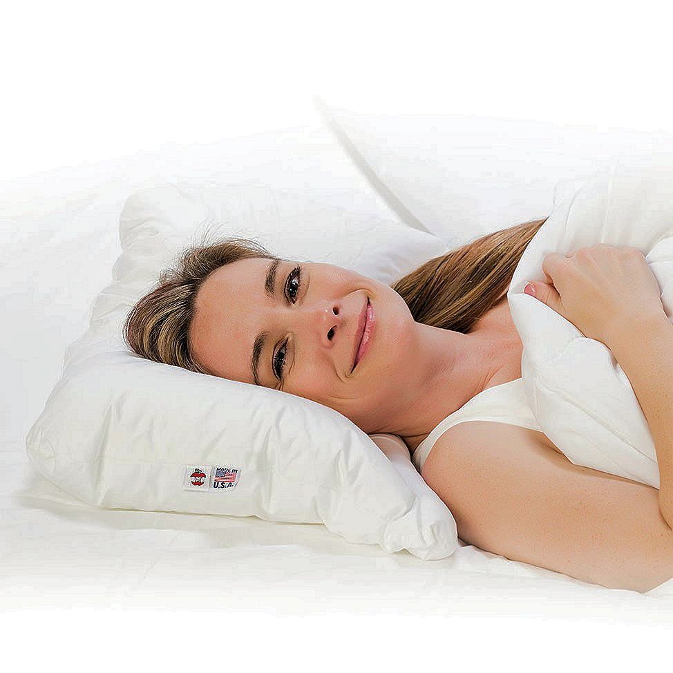 Pillow for neck pain and side sleepers