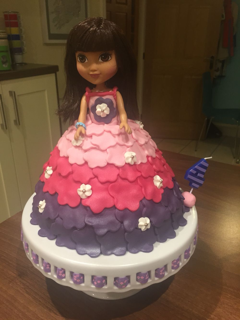 Dora And Friends In The City Birthday Cake With Images Dora