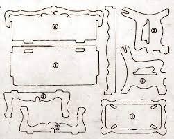 Resultado de imagen para moldes para hacer casitas para for Muebles gomez y sierra