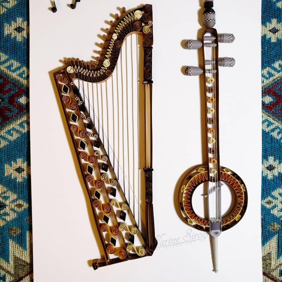 Armenian musical instruments Tavigh, Qamancha Տավիղ, Քամանչա #musicalinstruments