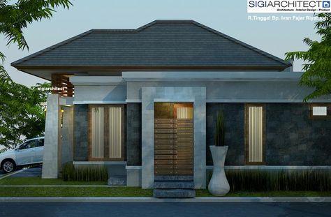 desain rumah type 54-60 | desain rumah, rumah, desain