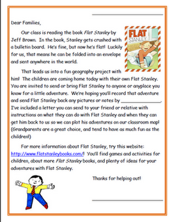 Learn about the world with flat stanley all things social studies free flat stanley project idea and letter elementary matters flat stanley revisited maxwellsz